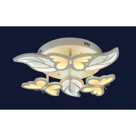 LED люстра светодиодная MX 100019 3+3 102W c пультом