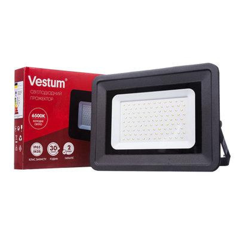Прожектор LED Vestum 100W 8800Lm 6500K 185-265V IP65