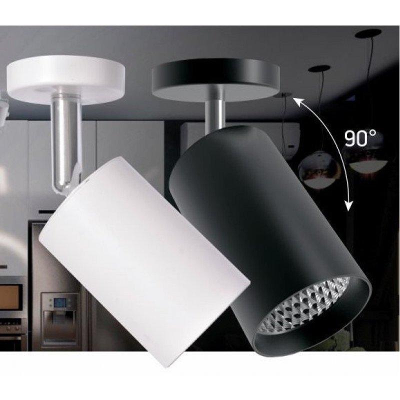 Светодиодный светильник Feron AL530 18W 4000К белый/черный