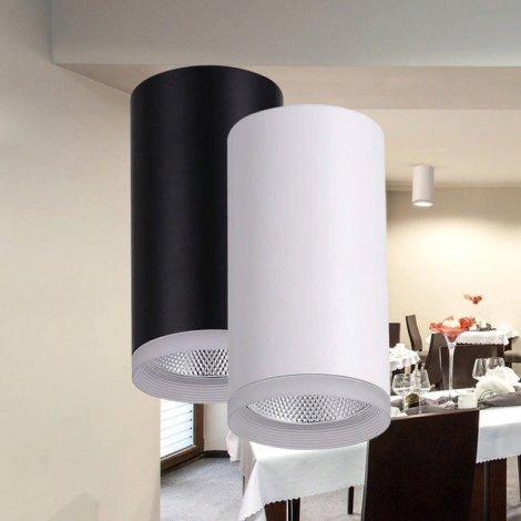 Светодиодный светильник Feron AL540 14W 4000K белый/черный