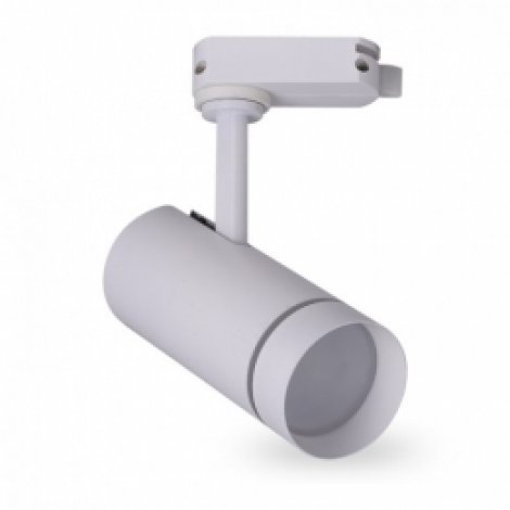 Трековый светильник Feron AL106 10W IP40 4000K 85x55x190 (белый/черный)