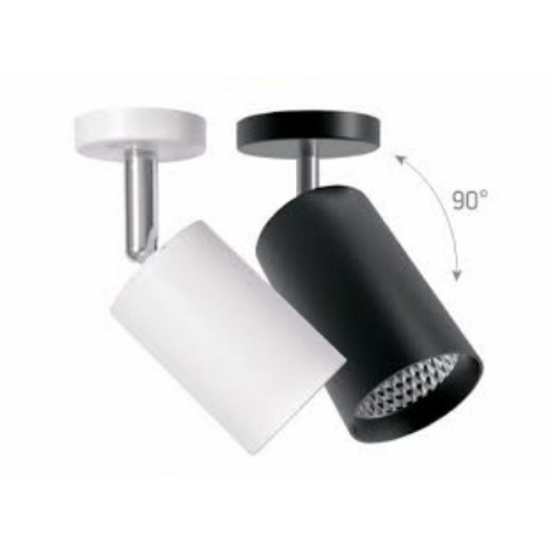 Светодиодный светильник Feron AL530 23W белый/черный