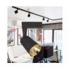 Трековый светильник Feron AL111 18W 4000K IP40 черный-золото 150x90x170мм