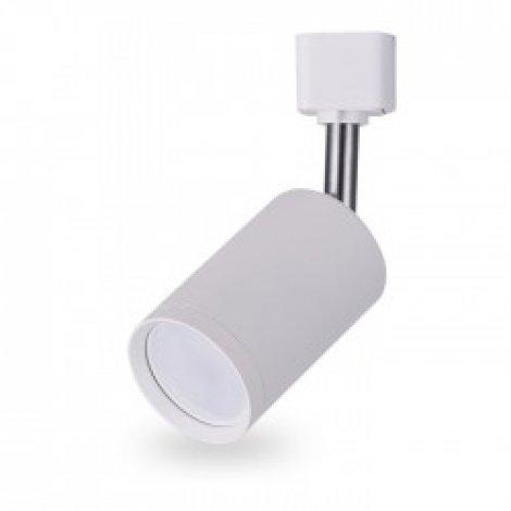 Трековый светильник Feron AL155 GU10/MR16 IP20 60x105 (белый/черный)