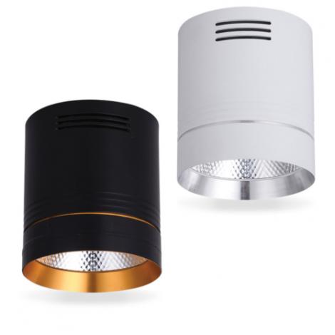 Светодиодный светильник Feron AL542 10W 4000K белый/черный