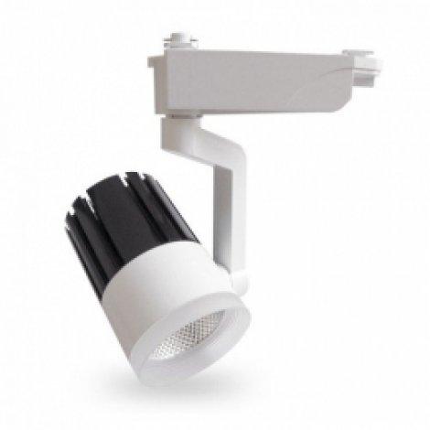 Трековый светильник Feron AL119 30W 4000K IP40 белый 100х180х220