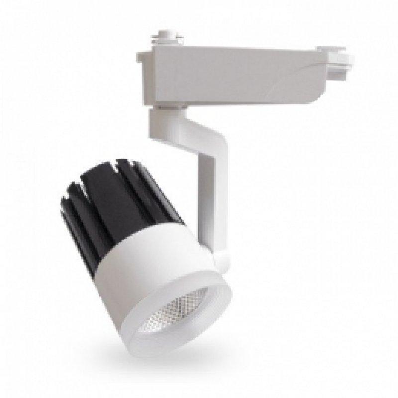 Трековый светильник Feron AL119 20W 4000K IP40 белый 80х180х215