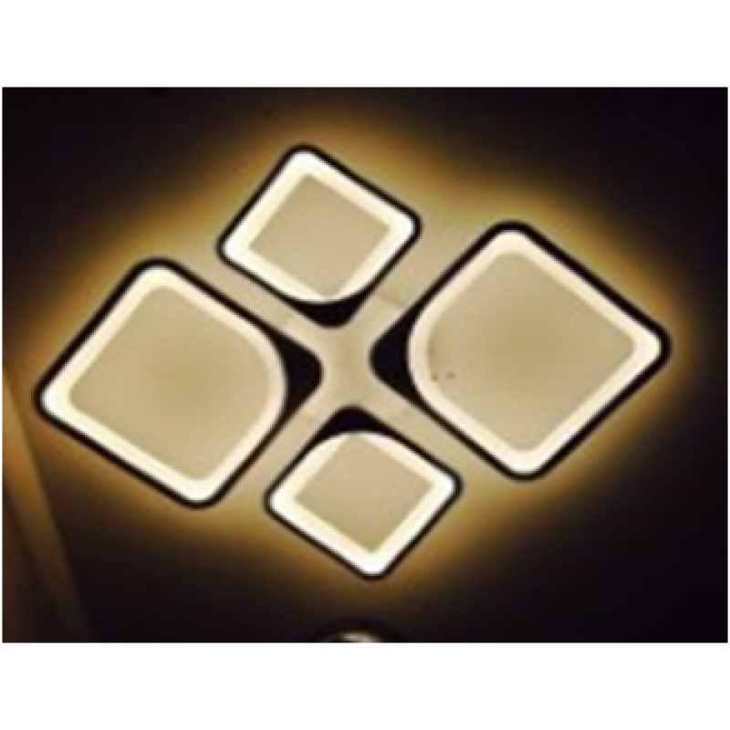 LED люстра светодиодная MX 10005 2+2 92W c пультом