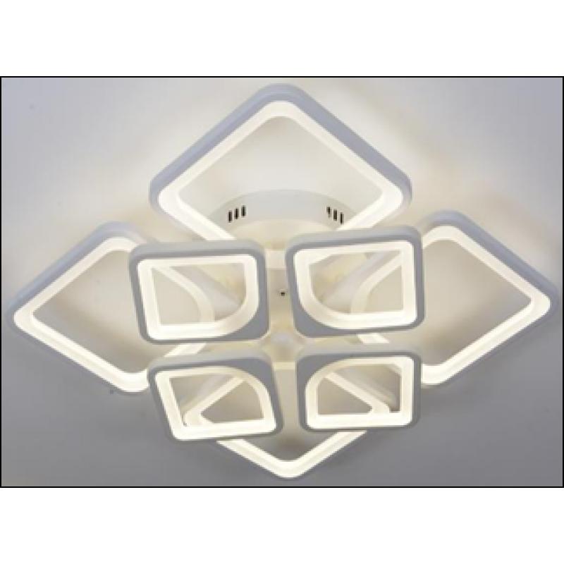 LED люстра светодиодная MX 10005 4+4 ВН 184W c пультом