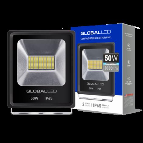 Светодиодный прожектор GLOBAL FLOOD LIGHT 50W 5000K 220V