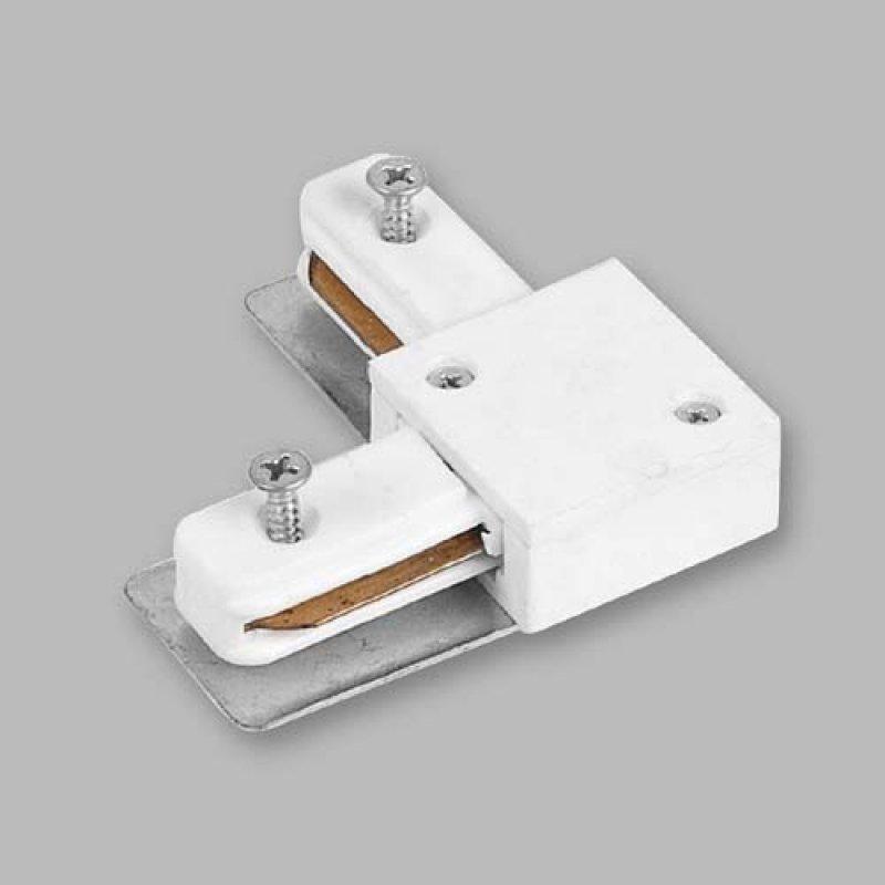 Коннектор для шины Feron LD1001 (Белый/Черный)