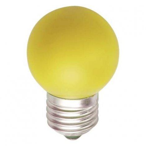 Светодиодная лампа Feron LB-37 1W E27 желтая, красная, зеленая, синяя