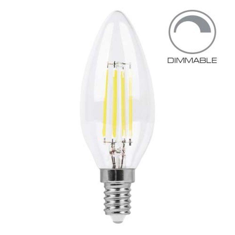 Светодиодная лампа Feron LB-68 4W E14 2700K/4000K диммируемая