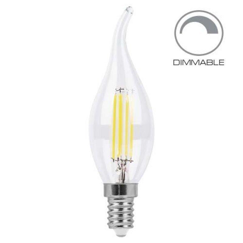Светодиодная лампа Feron LB-69 4W E14 2700K/4000K диммируемая