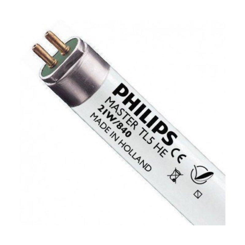 Люминесцентная лампа PHILIPS TL5 21W/830/840 G5 HE Sleeve