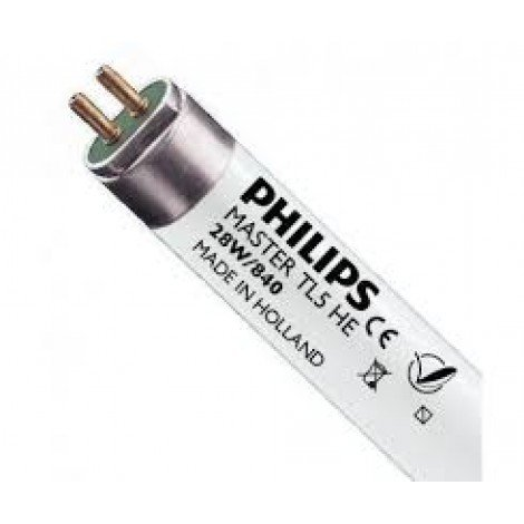 Люминесцентная лампа PHILIPS TL5 28W/830/840 G5 HE Sleeve