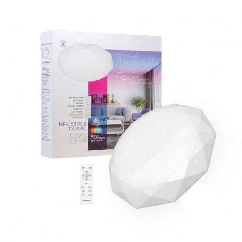 Светильник светодиодный СВЕТКОМПЛЕКТ Ardiente MF-L RGB с пультом ДУ 32 W Белый 2800-6000 К