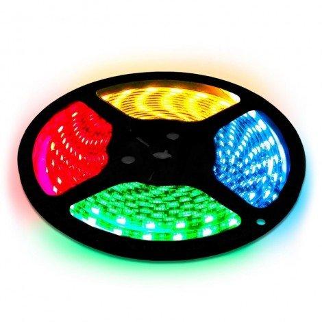Светодиодная лента OEM ST-12-5050-60-RGB-20 негерметичная 1м