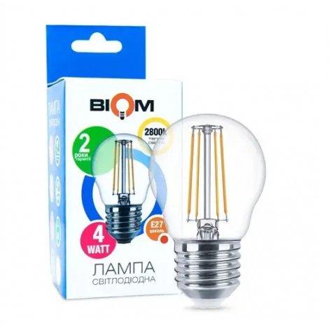 Светодиодная лампа Biom FL-301 G45 4W E27 2800K