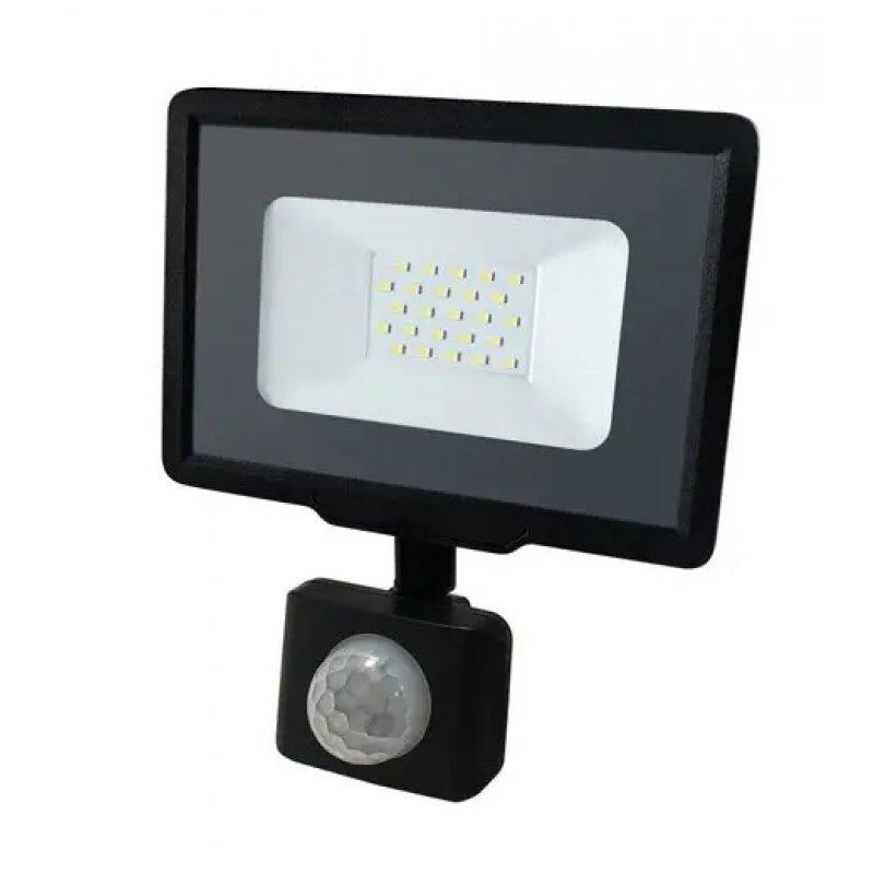 Светодиодный прожектор BIOM 20W S5-SMD-20-Slim+Sensor 6200К 220V IP65 с сенсорным датчиком