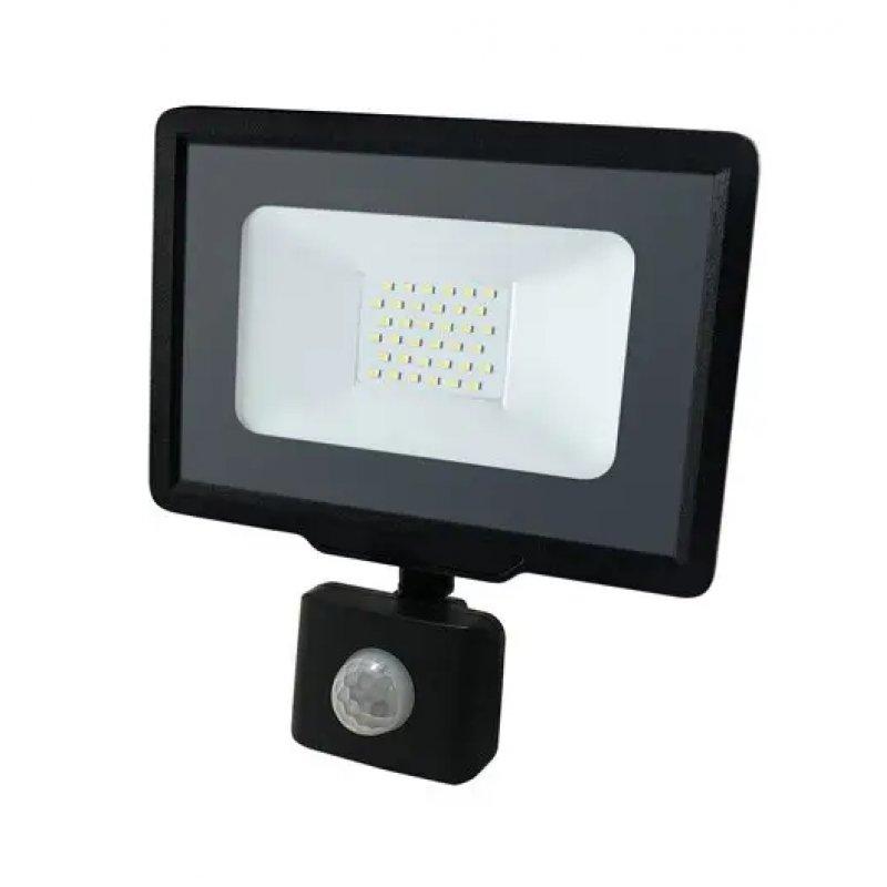 Светодиодный прожектор BIOM 30W S5-SMD-30-Slim+Sensor 6200К 220V IP65 с сенсорным датчиком