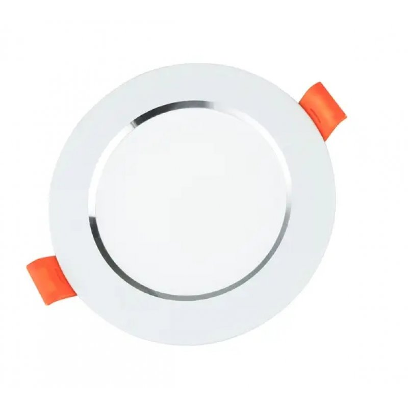 Светильник светодиодный Biom DF-9W 9Вт белый круглый 5000К