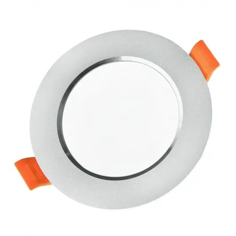 Светильник светодиодный Biom DF-6B 6Вт круглый 5000К серый