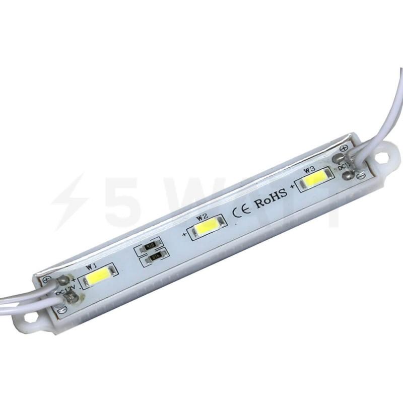 Светодиодный модуль BRT SMD 5630 3LED 1,5W IP65 холодный белый