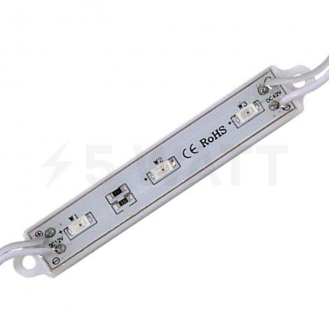 Светодиодный модуль BIOM SMD5730-3*0.5W, IP65, красный