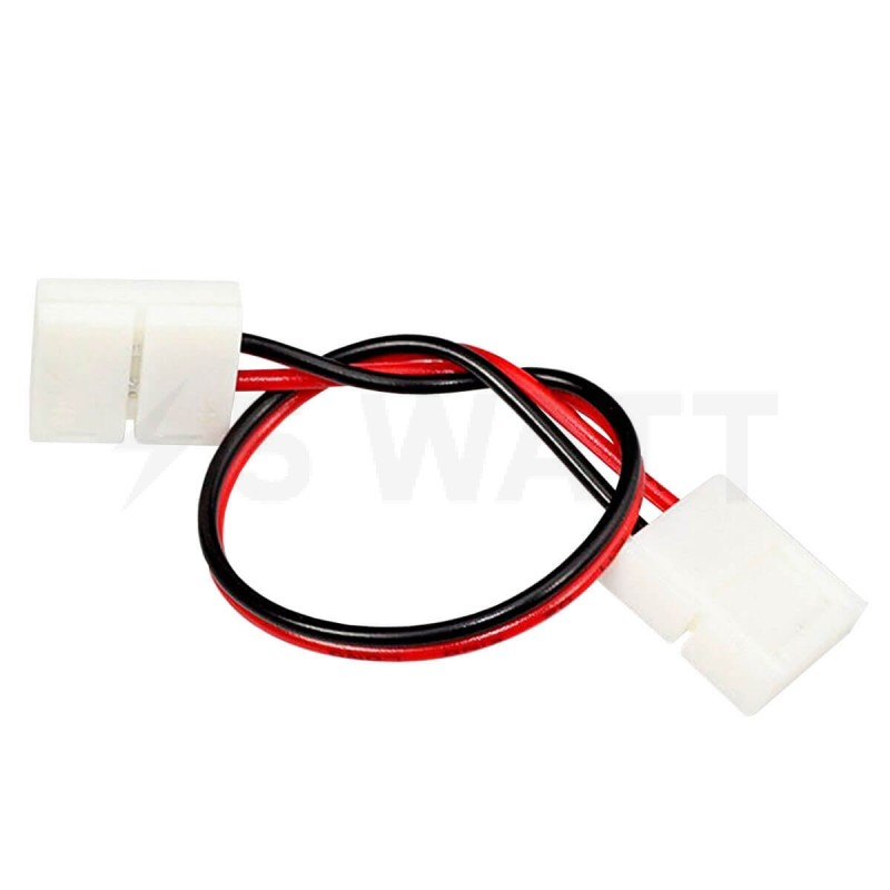 Коннектор для светодиодных лент OEM №5 8mm 2joint wire (провод-2 зажима)