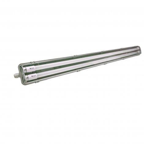 Промышленный светильник с лампами Евросвет EVRO-LED-SH-40 36W 2*1200мм slim