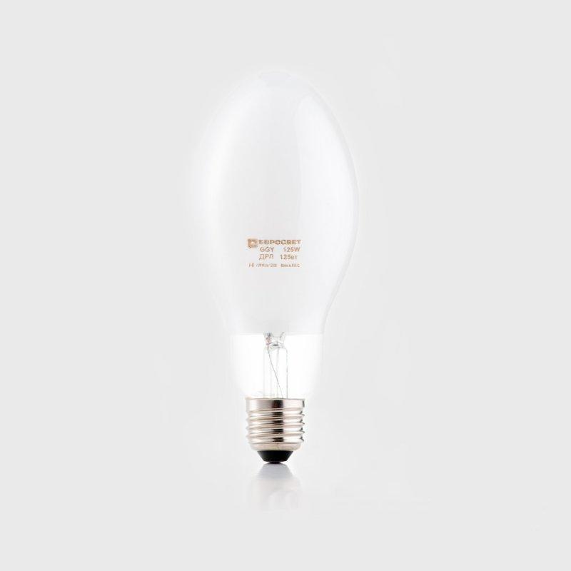 Лампа ртутная Евросвет GGY 125W E27