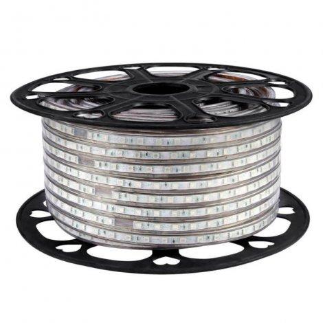 Светодиодная лента SMD 3014 120LED/m 7W IP67 холодный белый