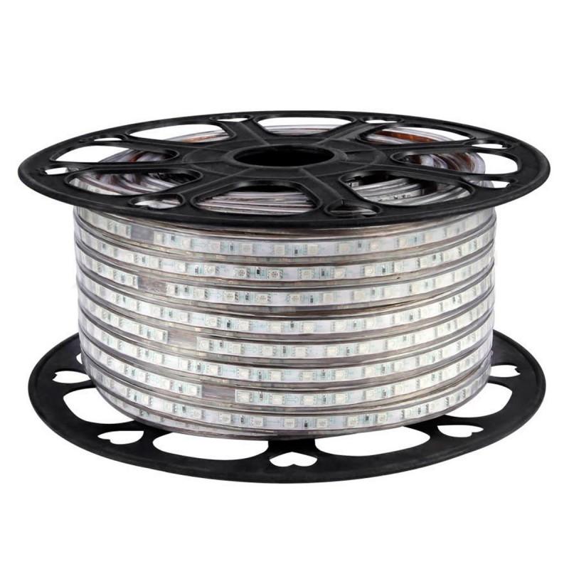 Светодиодная лента SMD 3014 120LED/m 7W IP67 теплый белый