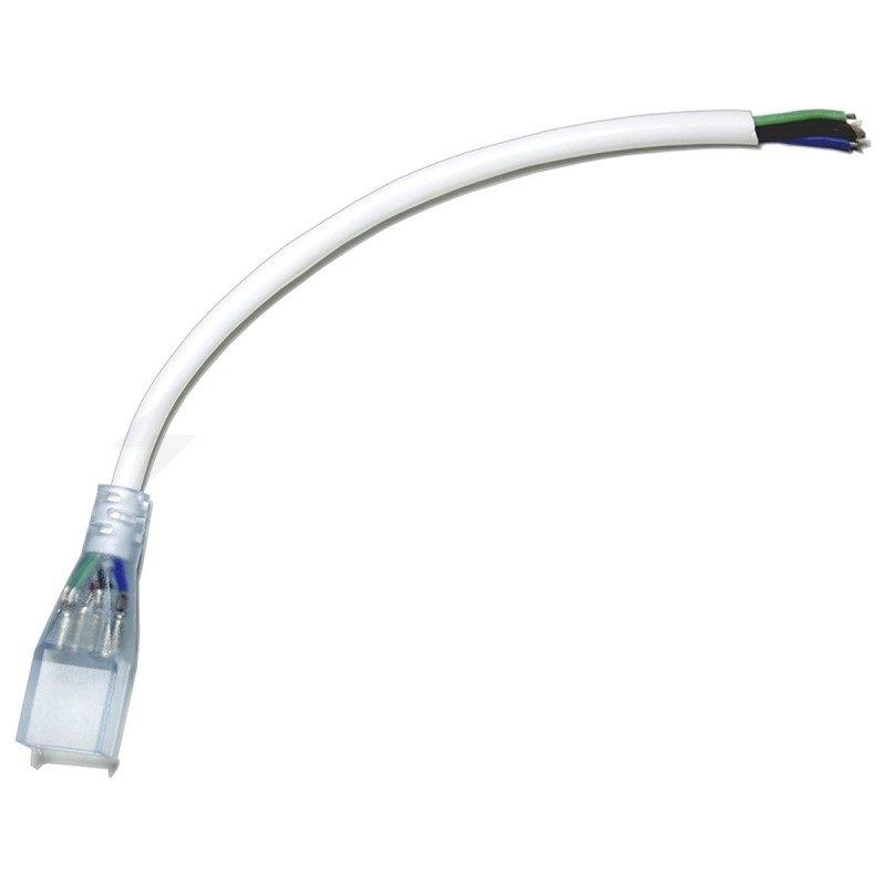 Коннектор для подключения светодиодных лент NEON 12V 2835-120 8*16mm (разъем-провод +2pin)