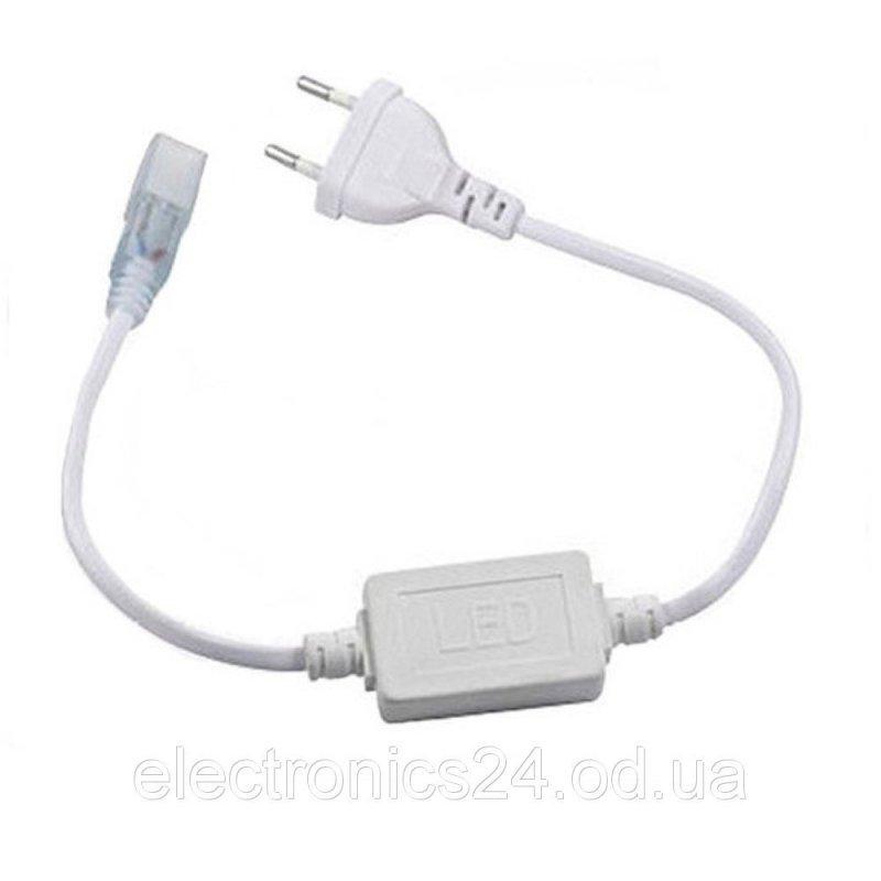 Кабель питания для светодиодных лент 220V 5050/5730-52 IP65
