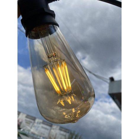 Лампочка LED Numina YS-ST64 Amber 6W 2700K