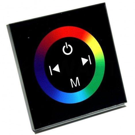 Контроллер RGB OEM 12A-Touch черный встраиваемый
