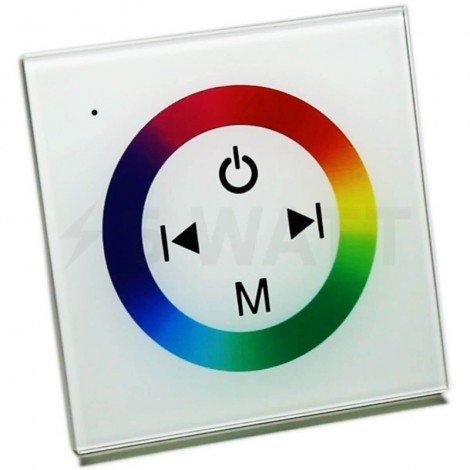 Контроллер RGB OEM 12A-Touch белый встраиваемый