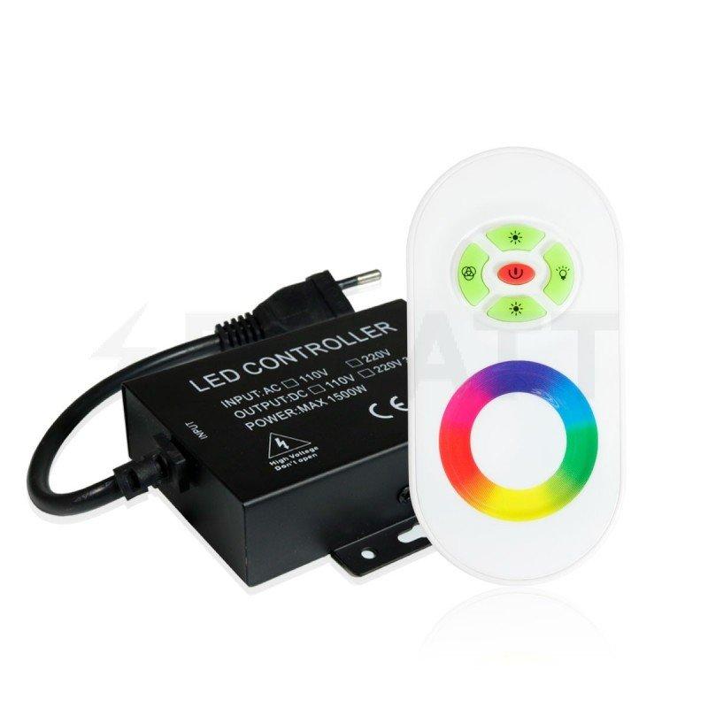 Контроллер RGB OEM 1500W-RF-5 кнопок