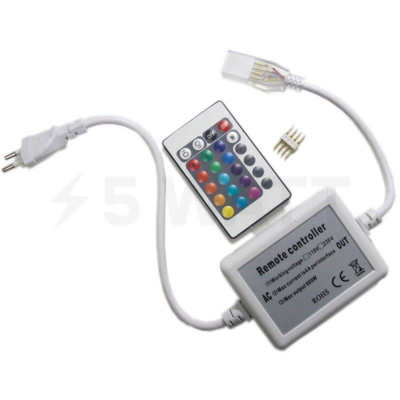 Контроллер RGB OEM 600W-IR-24 кнопки