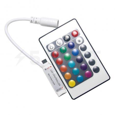 Контроллер RGB OEM 6A-IR-24-MINI кнопки