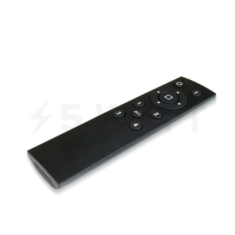 Пульт д/у OEM JM-DS 4-zone 2.4g remote 12 кнопок универсальный черный
