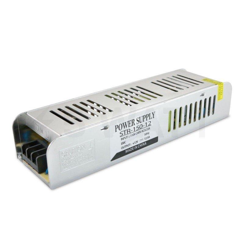 Блок питания OEM DC12 150W 12.5A STR-150 с EMC фильтром
