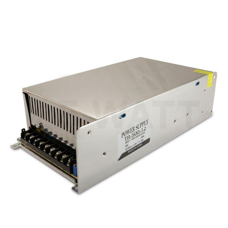 Блок питания OEM DC12 500W 41A TR-500-12 с перфорацией STANDART