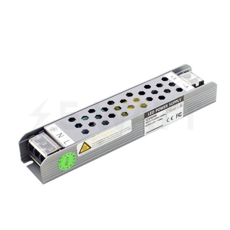 Блок питания PROFESSIONAL DC12 60W BPU-60 5A ULTRA COMPACT