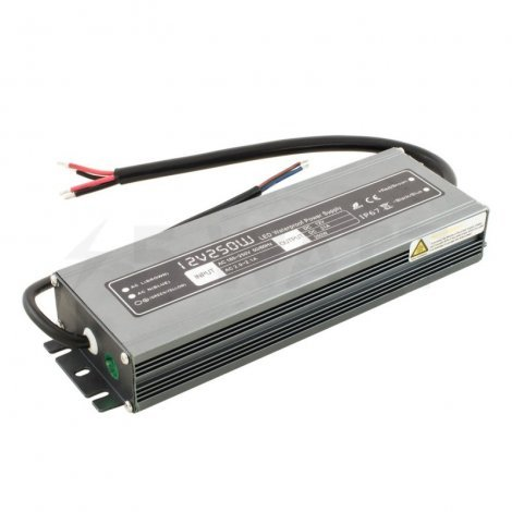 Блок питания PROFESSIONAL DC12 250W WBP-250 20A SUPERSLIM