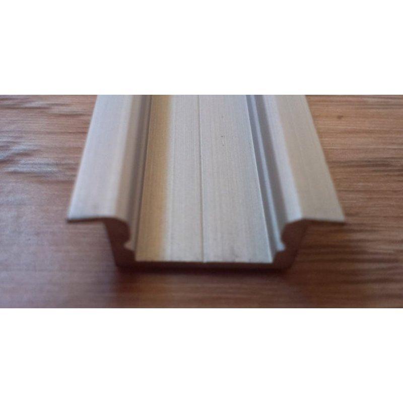 Врезной алюминиевый профиль для светодиодных лент анодированный ЛПВ7