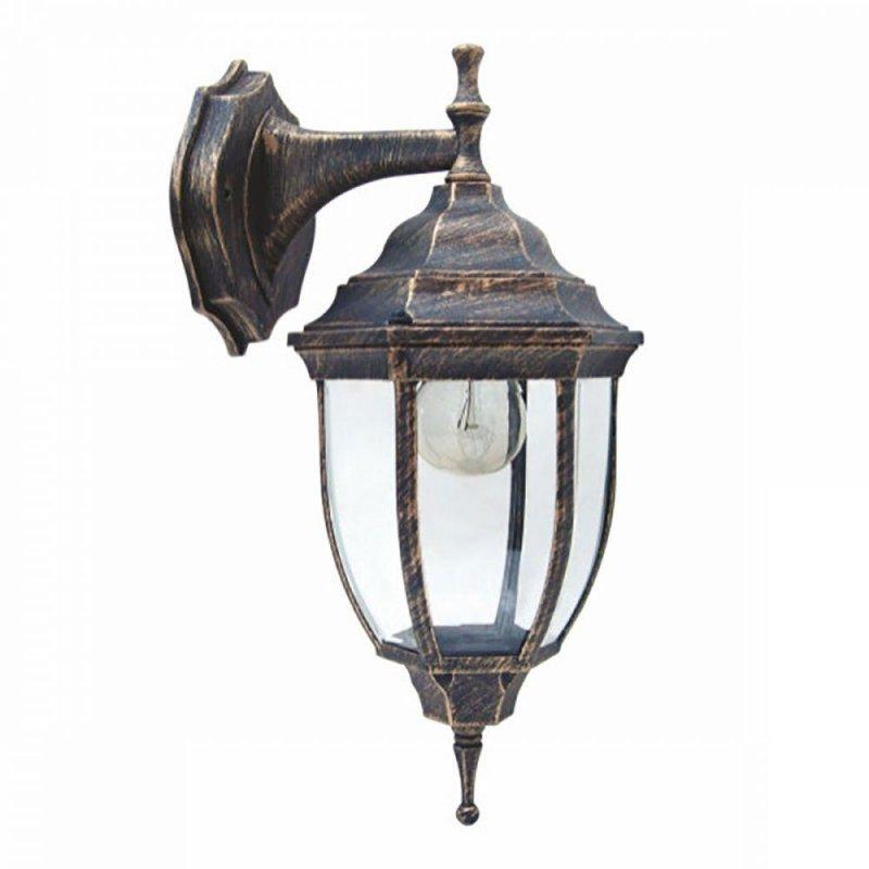 Светильник парковый RIGHT HAUSEN (метал/античное серебро) 60W E27 вниз HN-19.3.01.9