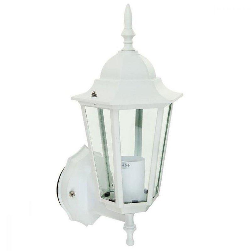 Светильник парковый RIGHT HAUSEN (метал/белый) 60W E27 вверх HN-19.3.02.1